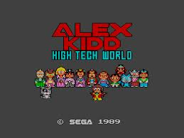 Alex Kidd – High-Tech World