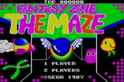 Fantasy Zone – The Maze