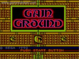Gain Ground