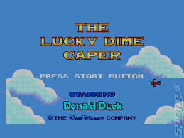 Lucky Dime Caper Starring Donald Duck