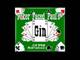 Poker Faced Paul's Gin