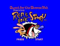 Quest for the Shaven Yak Starring Ren Hoek & Stimpy