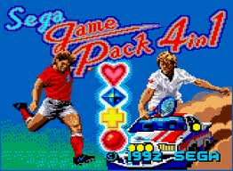 Sega Game Pack 4 in 1