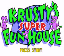 Simpsons, The – Krusty's Fun House