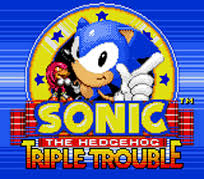 Sonic The Hedgehog – Triple Trouble